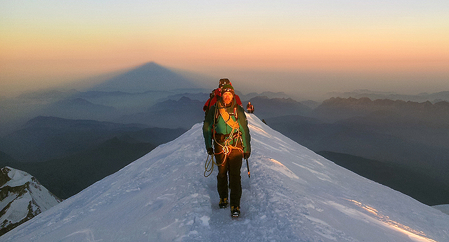 summit at dawn