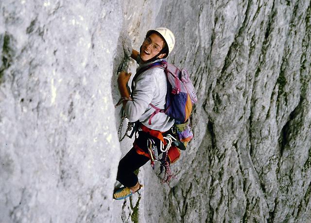 V južni steni Planje 1997