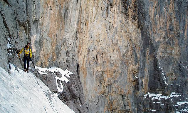 V severni steni Eigerja