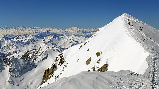Vrh Domes de Miage (3670 m)